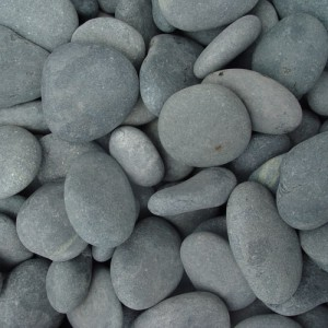 Beach Pebbles, Black