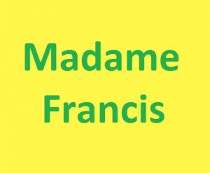 Madame Francis Mango