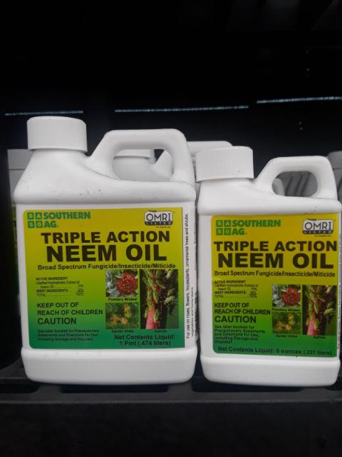 Triple Action Neem Oil