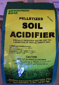 Soil Acidifier, Pellets