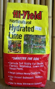 Horticultural Hydrated Lime