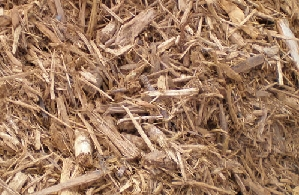 Wood Mulch, Natural